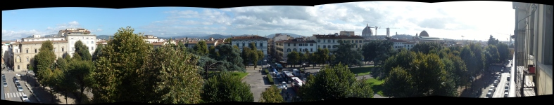 The view from our window